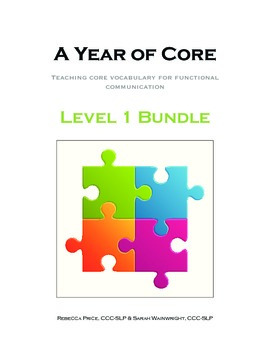 AAC A Year of Core Level 1 Bundle: BOARDMAKER - Word of th