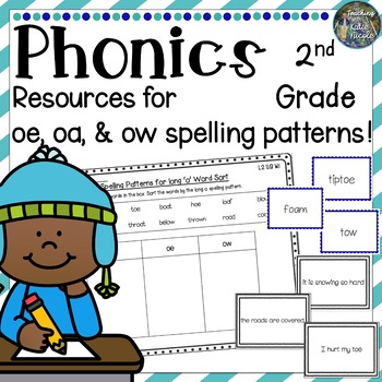 Phonics Second Grade: Resources for learning long o sounds