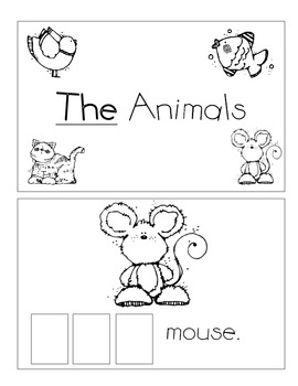 Level A Sight Word Reader-The (easier)