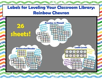 Level Labels for Organizing Book Baskets for Reader's Work