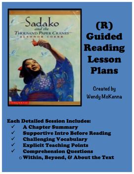 Level R Guided Reading Lesson Plans: Sadako and the Thousa
