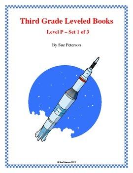 Third Grade Leveled Books: Level P - Set 1