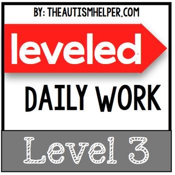Leveled Daily Work {Level 3}