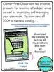 Leveled Library Book Basket Labels {Chalkboard Style / Bla
