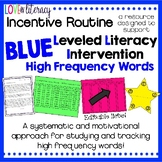 Leveled Literacy Intervention BLUE: High Frequency Words I