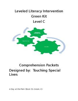 Leveled Literacy Intervention-Green Level C & 10 comprehen