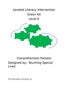 Leveled Literacy Intervention-Green Level E & 14 comprehen
