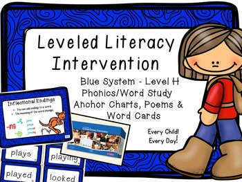 Leveled Literacy Intervention (LLI): Blue Level H: Anchor