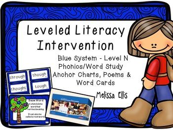 Leveled Literacy Intervention (LLI): Blue Level N Anchor C
