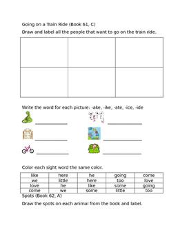 Leveled Literacy Intervention- Orange Kit Level C FREE SAMPLE
