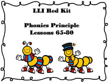Leveled Literacy Intervention Phonics Lessons 65-80