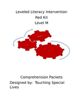 Leveled Literacy Intervention- RED KIT Level M, 59 compreh
