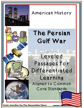 Leveled Rdg Passages for Differentiation: Persian Gulf War