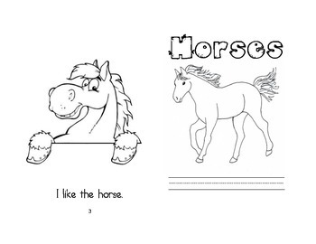 Leveled Readers: Farm Unit - Horses
