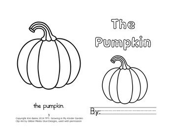 Leveled Readers: Pumpkin Sequence