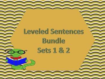 Leveled Sentences Bundle