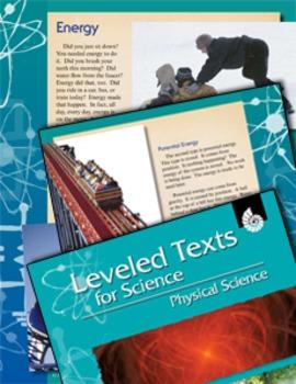 Leveled Texts: Energy