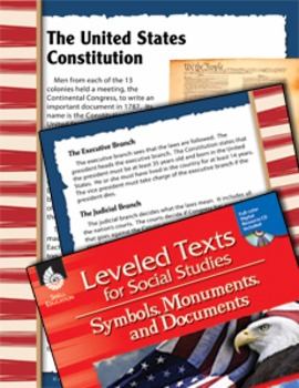 Leveled Texts: United States Constitution (eLesson)