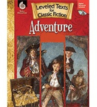 Leveled Texts for Classic Fiction: Adventure (Physical Book)