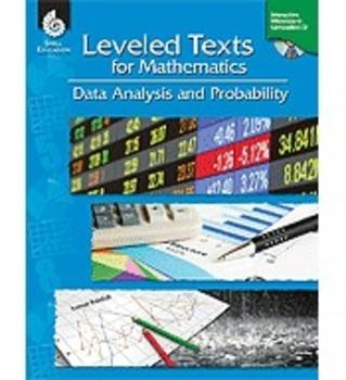 Leveled Texts for Mathematics: Data Analysis and Probabili