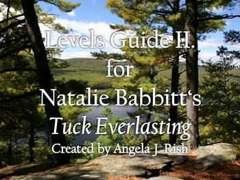 Levels Guide (II.) for Natalie Babbitt's Tuck Everlasting
