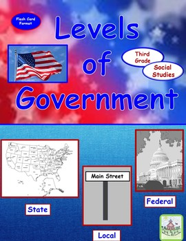 Levels of Government Flash Cards