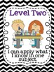 Levels of Understanding & Application Posters {Formative A