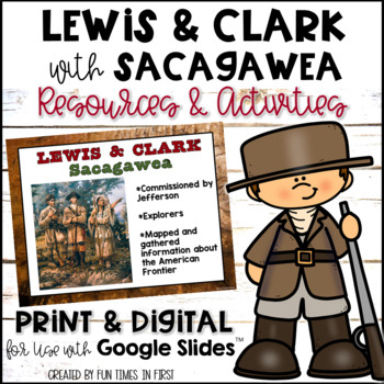 Lewis, Clark, & Sacagawea {Resources to Support Research}