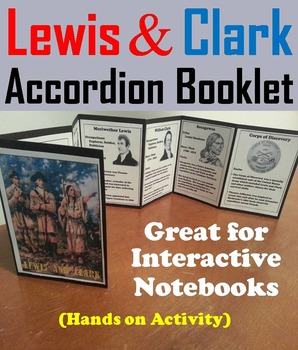 Westward Expansion Unit: Lewis and Clark Expedition Activi