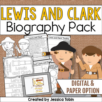 Lewis and Clark Biography Pack