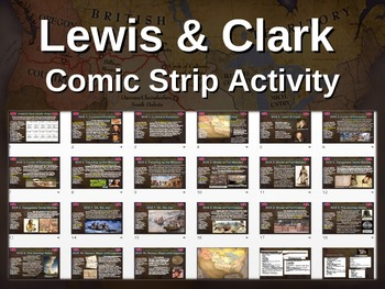 Lewis and Clark Comic Strip Activity: fun, highly visual &
