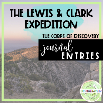 Lewis and Clark Creative Writing Assignment