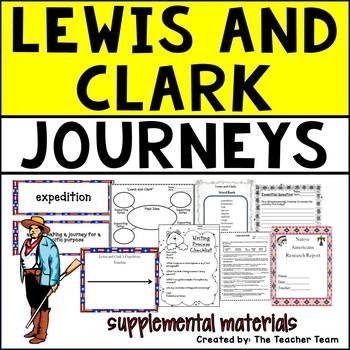 Lewis and Clark Journeys Fifth Grade Supplemental Materials