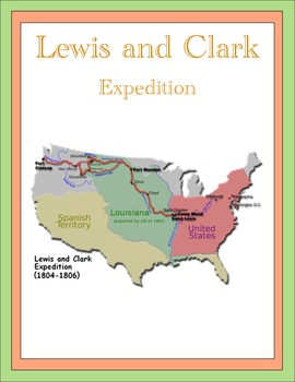 Lewis and Clark Thematic Unit