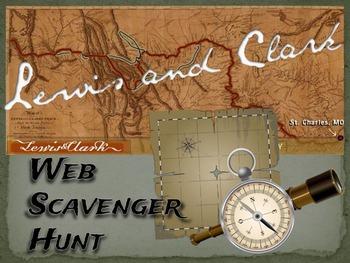 Lewis and Clark: Web Scavenger Hunt