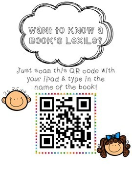 Lexile Poster for Classroom Library