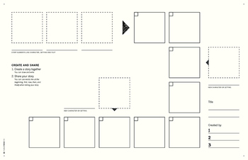 Li'l Stories Storyboard for 1st to 4th Graders