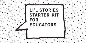 Li'l Stories Storyboard for K to 1st Graders