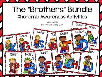 Lips Phonemic Awareness Supplemental Activities BUNDLE:  T