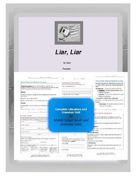 Liar Liar Novel Unit