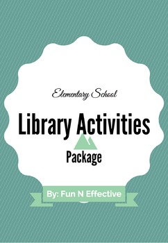 Library Activities Package #1