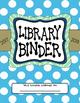 Library Binder Dividers