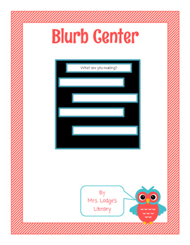 Library Blurbs or Library Tweets Microblogging Center with