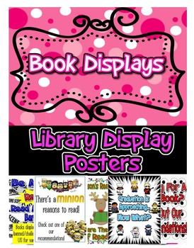 Library Book Display Signs