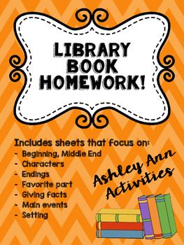 Library Book Homework!