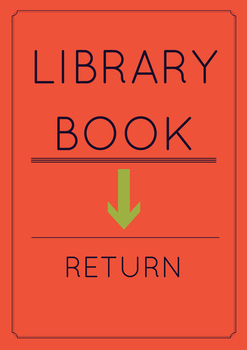 Library Book Return Sign