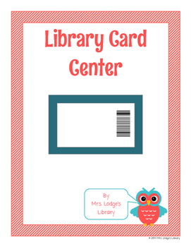 Library Card Center