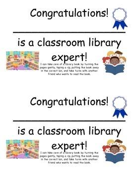 Library Expert Award