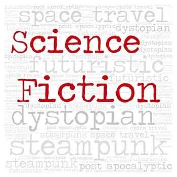Library Fiction Genre Sign:  SCIENCE FICTION