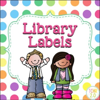Library Labels Editable